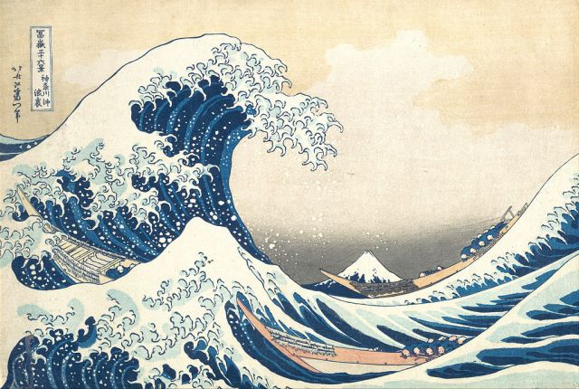Great Wave off Kanagawa by Hokusai