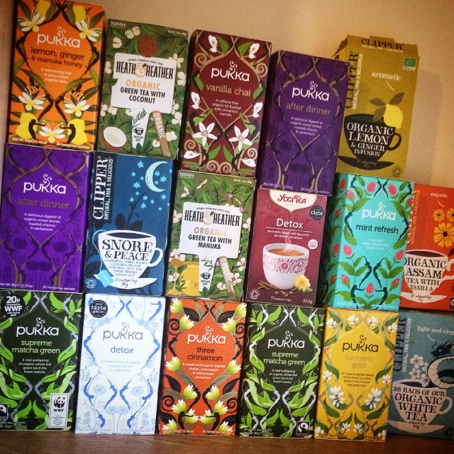 My tea collection
