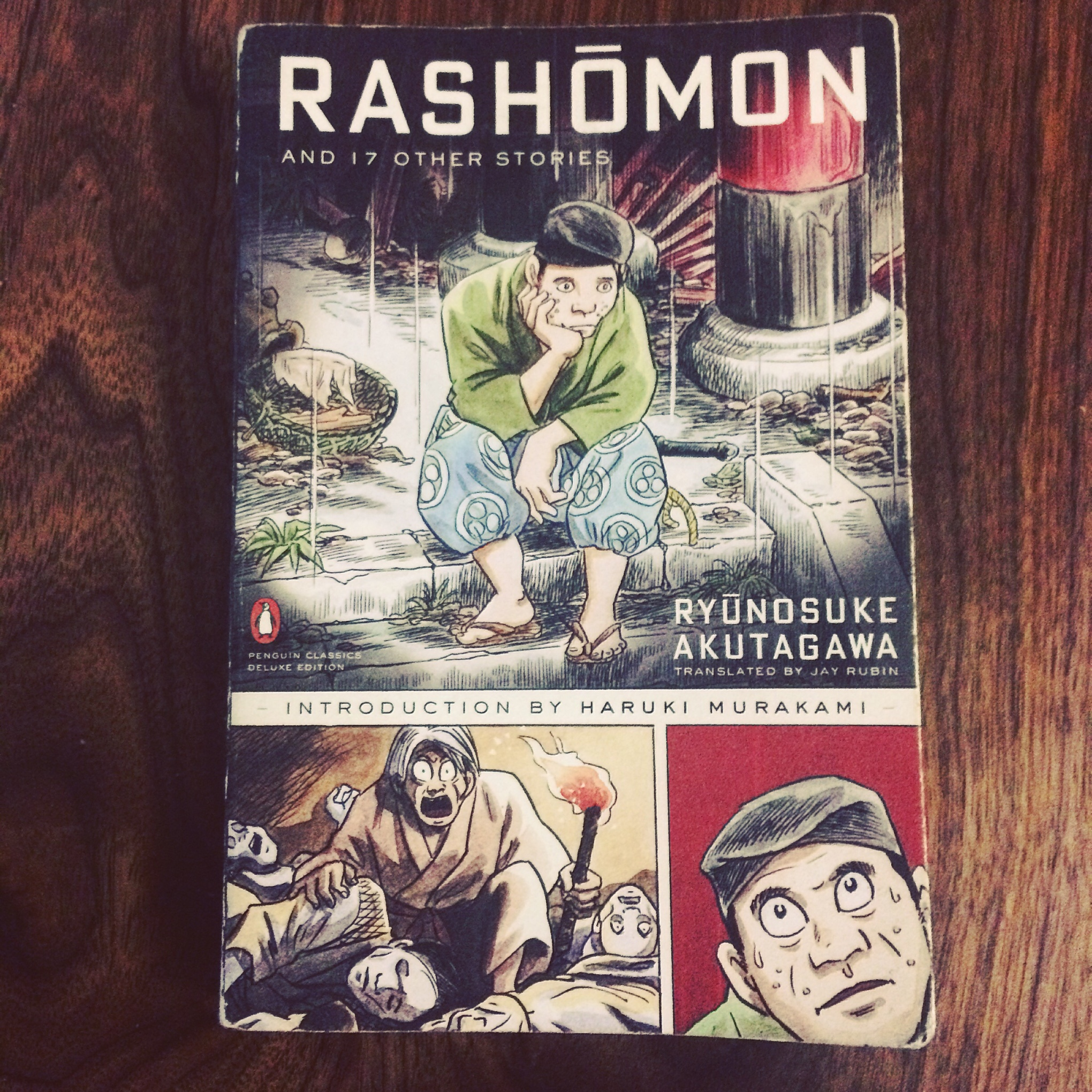 Rashōmon and 17 Other Stories by Ryūnosuke Akutagawa